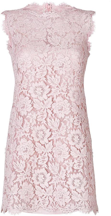 Valentino Cotton Lace Shift