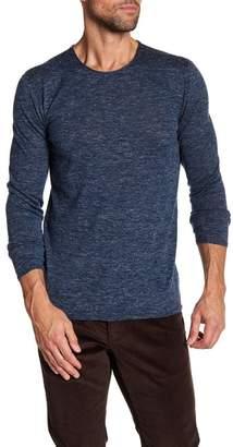 John Varvatos Collection Heathered Crew Neck Sweater