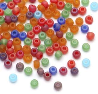 Dazzle It Dazzle-It! Czech Seed Beads - Silky Candles Mix - 2/0