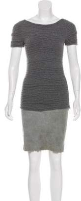 Jitrois Knee-Length Knit Dress