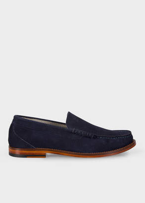 Men's Navy Suede 'Raymond' Loafers