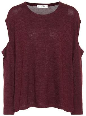 Rag & Bone Jersey top with cut-out sleeves