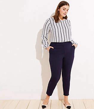 LOFT Plus High Waist Skinny Ankle Pants in Marisa Fit