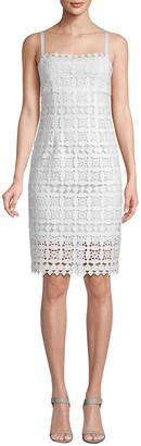 Nanette Lepore Little Secrets Lace Sheath Dress