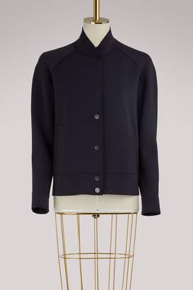 Harris Wharf London Round neck bomber jacket
