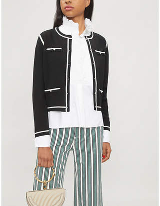 Claudie Pierlot Meonie knitted cardigan