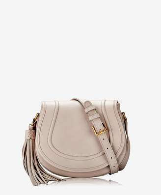 GiGi New York Jenni Saddle Bag, Beechwood Pebble Grain