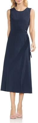 Vince Camuto Sleeveless Pinstriped Dress