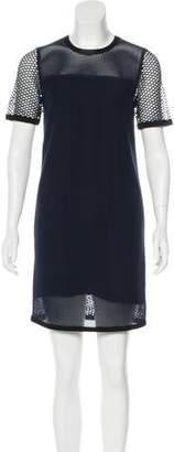 Rag & Bone Mesh Mini Dress