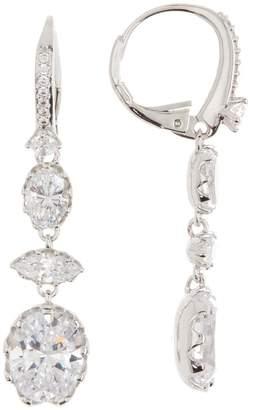 Nadri Gregorian CZ Dangle Earrings