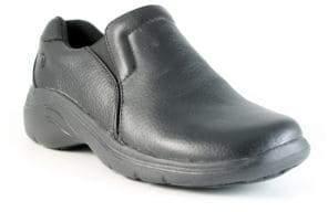Nurse Mates Dove Leather Non-Slip Loafers