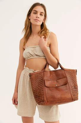 Latico Leathers Perfect Touch Woven Tote