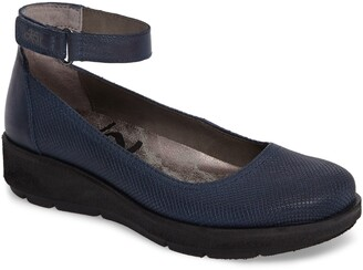 OTBT Scamper Ankle Strap Wedge