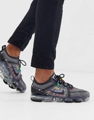 Nike Vapormax trainers in black