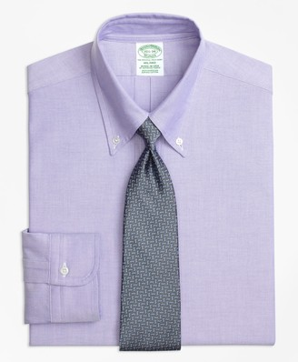 Brooks Brothers Original Polo Button-Down Oxford Milano Slim-Fit Dress Shirt