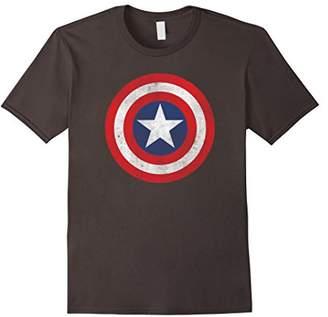 Marvel Captain America Classic Shield Graphic T-Shirt