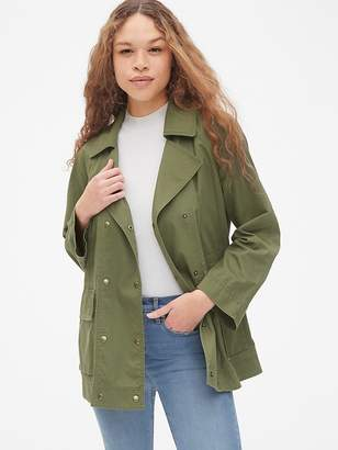 Gap Double-Breasted Military Jacket