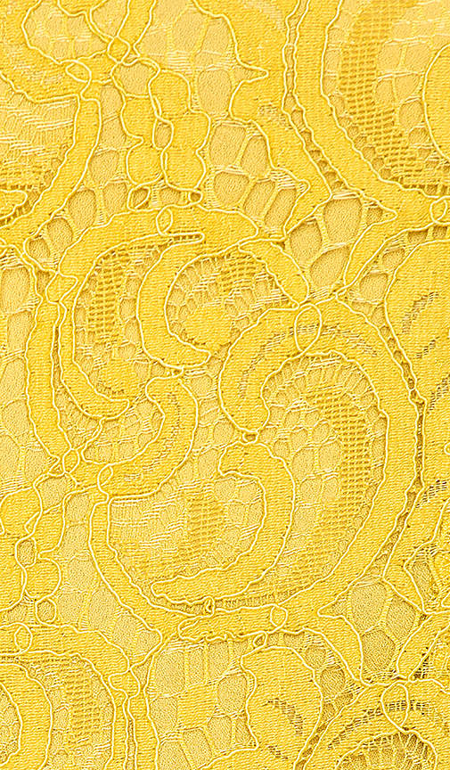 J.O.A. Frill Bottom Detail Lace Romper in Yellow 4
