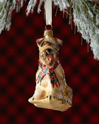 Joy To The World Collectibles Soft Coated Wheaten Terrier Dog Christmas Ornament