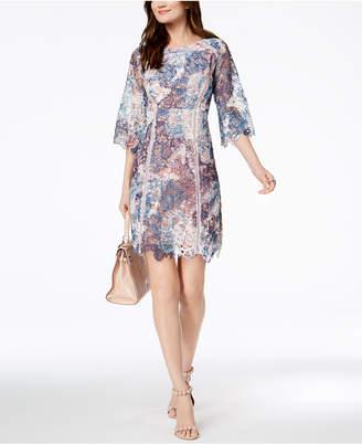 Jax Multicolored Lace Sheath Dress