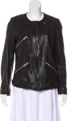 Etoile Isabel Marant Structured Leather Jacket