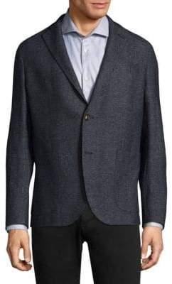 Eleventy Melange Jersey Jacket
