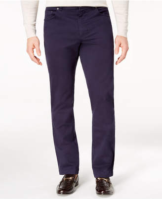 Tasso Elba Men's Classic-Fit Stretch Pants, Created for Macy's