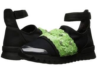 NO KA 'OI NO KA'OI Nani Ankle Strap Slip-On with Embroidery Women's Shoes