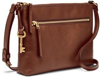 Fossil Fiona Ew Crossbody Handbag Brown