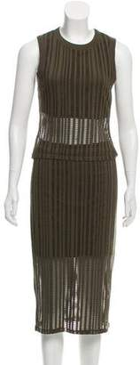 Alexander Wang Knit Sleeveless Skirt Set