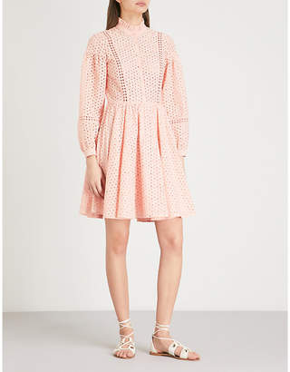 Claudie Pierlot Embroidered cotton dress