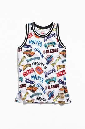 Mitchell & Ness Allover Western Swingman Basketball Jersey