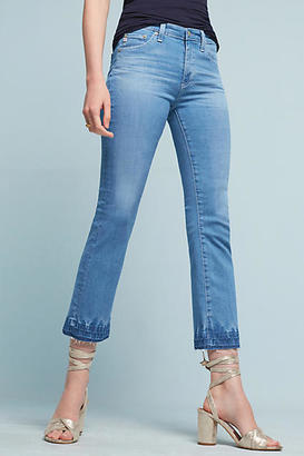 AG Jeans AG Jodi High-Rise Kick Flare Jeans $245 thestylecure.com