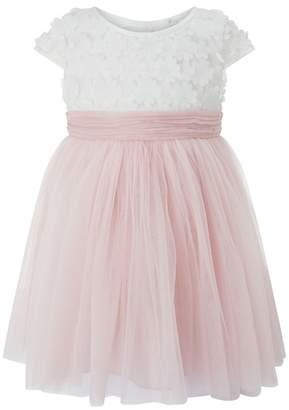 Monsoon Girls Pink 'Catalina' Flower Dress