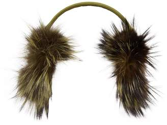 Fendi Fox Fur Ear Muffs