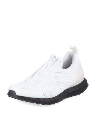 adidas by Stella McCartney Ultra Boost Uncaged Fabric Sneakers, White/Stone