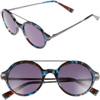 ED Ellen Degeneres 49mm Round Sunglasses