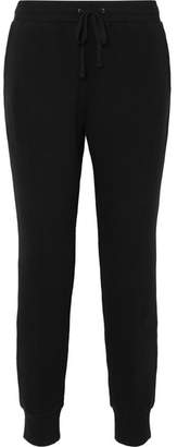 Madewell Stretch-cotton Terry Track Pants - Black