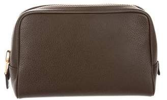 Tom Ford Pebbled Leather Pouch