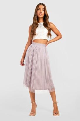 boohoo Boutique Jacquard Top Midi Skirt Co-Ord Set