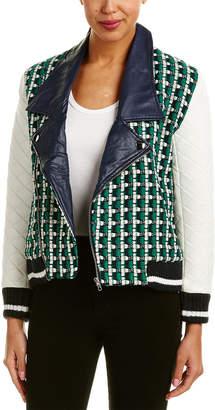 Endless Rose Quilted Sleeve Tweed Jacket