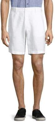 Saks Fifth Avenue Classic Linen Shorts