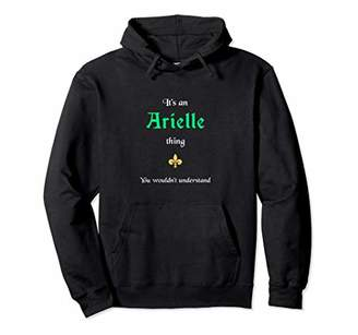 Arielle - Personalized Name Unisex Pullover Hoodie