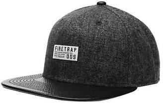6987b3b83a8 at eBay Fashion Outlet · Firetrap Mens Premium Snapback Cap Hat Flat Peak  Headwear Accessories