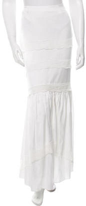 Alice by Temperley Lace-Trim Midi Skirt $225 thestylecure.com
