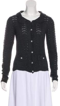 Dolce & Gabbana Knit Long Sleeve Cardigan