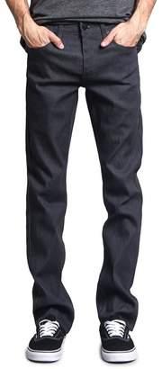 Victorious Men's Slim Fit Unwashed Raw Denim Jeans DL980 - 34/32