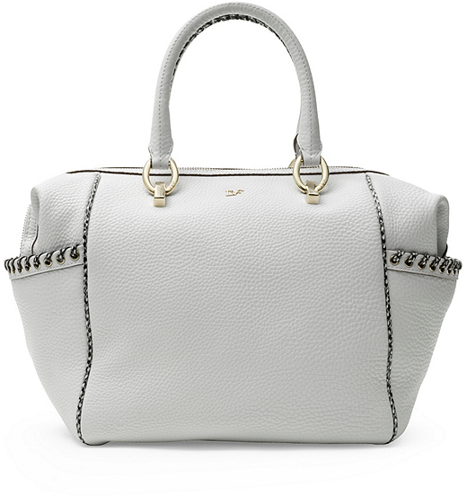 Diane von Furstenberg Sutra Bold Laced Leather Duffle Bag