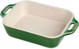 Staub Half-Quart Ceramic Rectangular Baking Dish