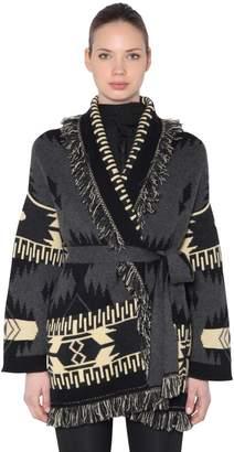 Icon Eyewear Alanui Jacquard Cashmere Cardigan Jacket